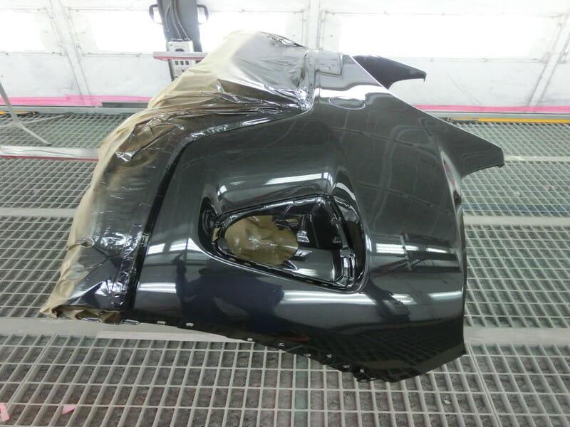 フロントバンパーの自費修理