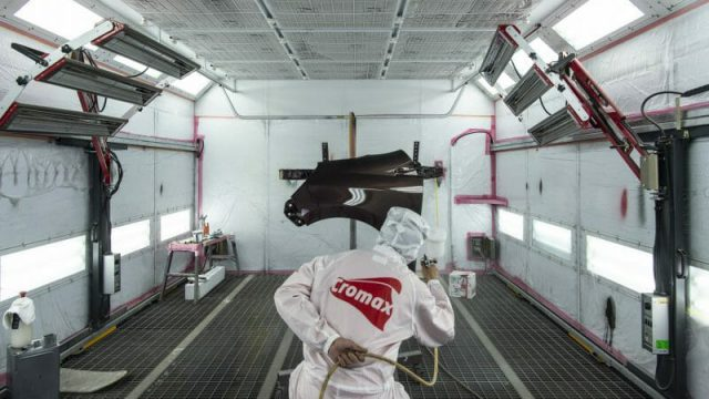 塗装ブースが塗装品質の向上に寄与します